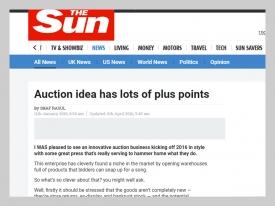 The Sun Auction Plus Points