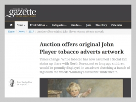 ATG John Player Auction