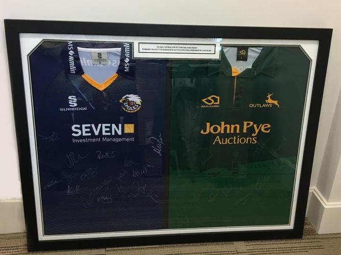 Money-can't-buy cricket memorabilia auction - John Pye Auctions