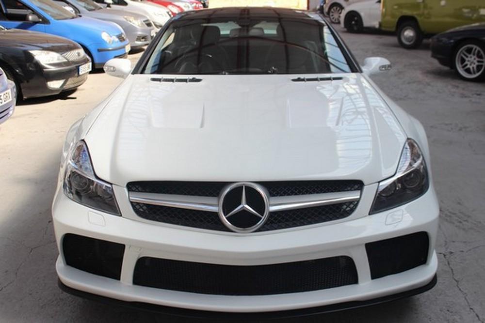 White Mercedes Replica