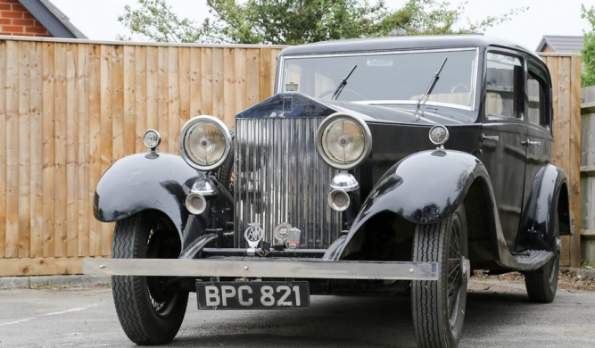 Rolls Royce 20/25 Front View