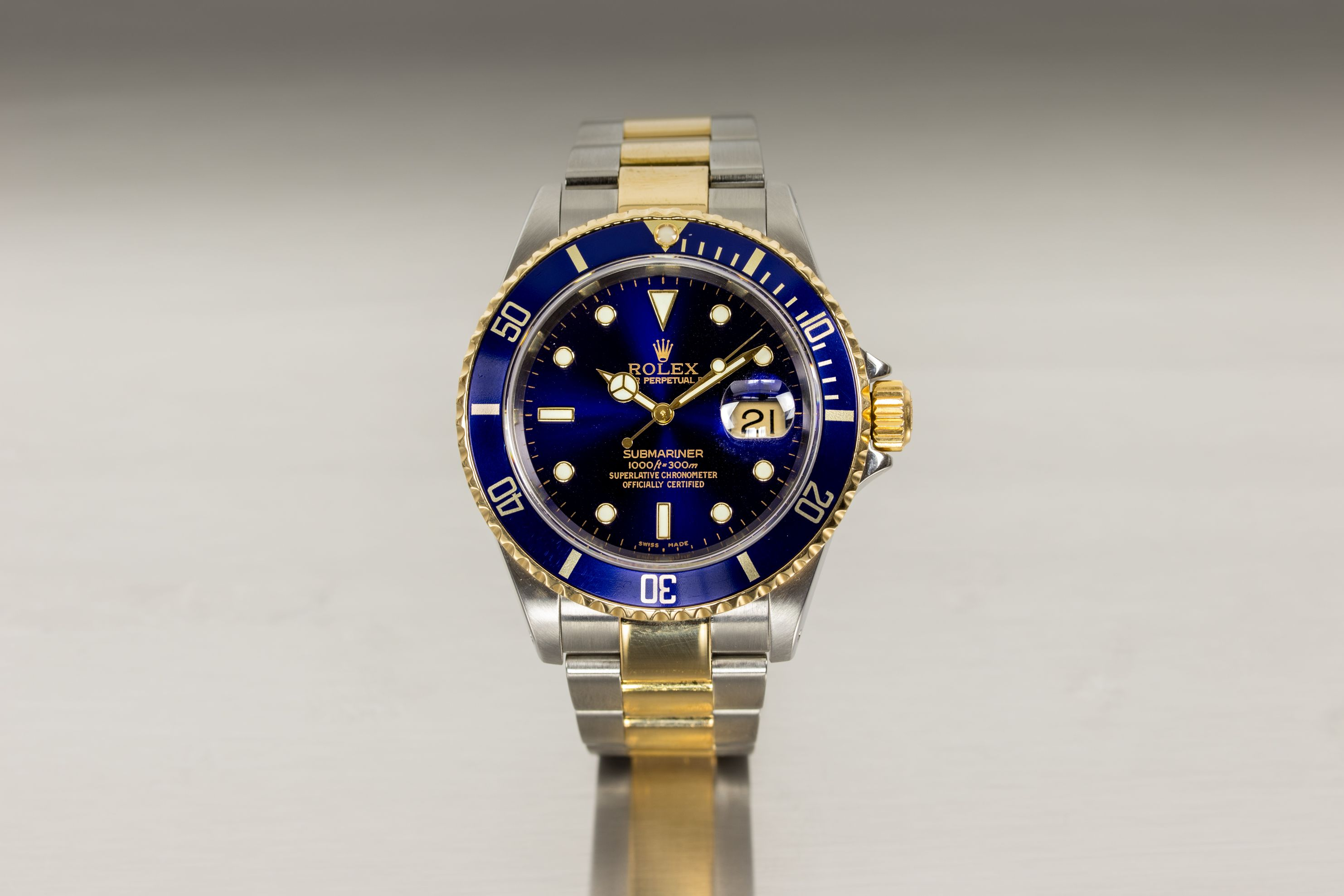 Rolex Submariner Blue Luxury Investment