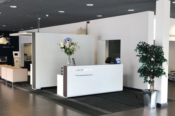 Peugeout Dealership Furniture For Sale