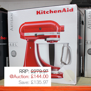 Auction Highlight 1 - Kitchen Aid