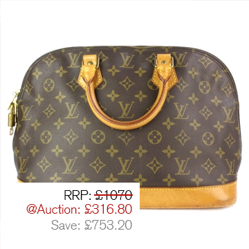 Auction Highlight 2 - Louis Vuitton Bag