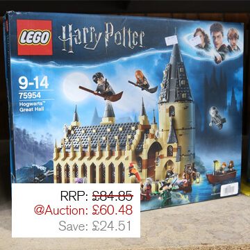 Auction Highlight 7 - Harry Potter Lego