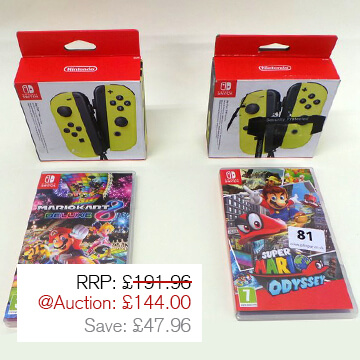 Auction Highlight 8 - Switch Games
