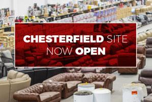 John Pye Chesterfield Now Opens