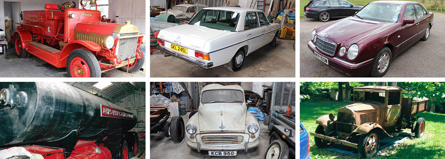 Landing Page Barn Find Auction